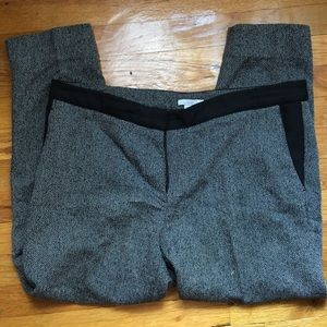 H&M tapered cropped work pants